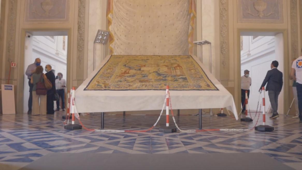 Restauración de los Tapices de Marsala